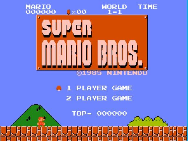Super Mario Bros by Regina Frangos