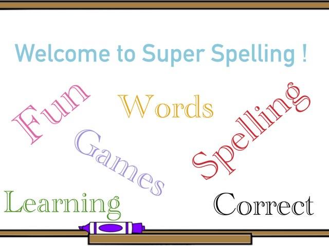 Super Spelling by Phurri Sam