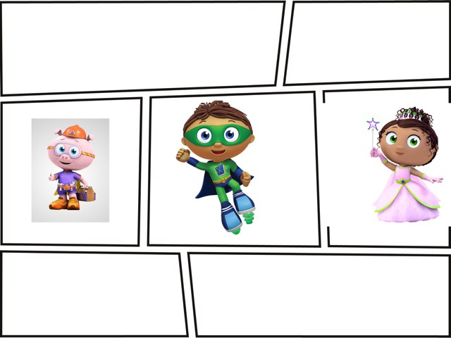 Super Why  by Kristin Meadows