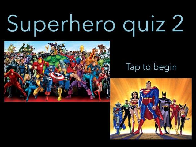 Superhero Quiz 2 by CSP