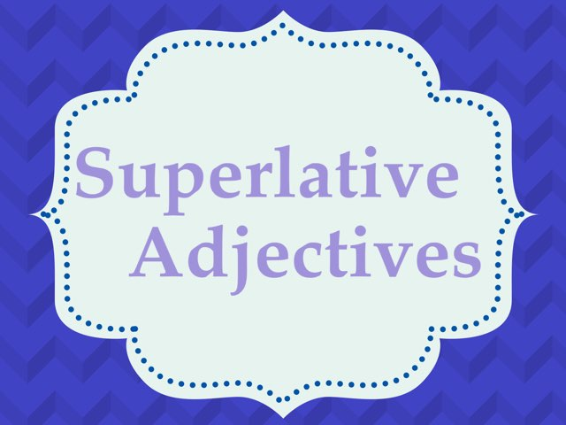 Superlatives by Arua Al Adl