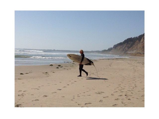 Surfer Game by Laurie Friedrich