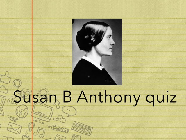 Susan B. Anthony by Cristina Chesser