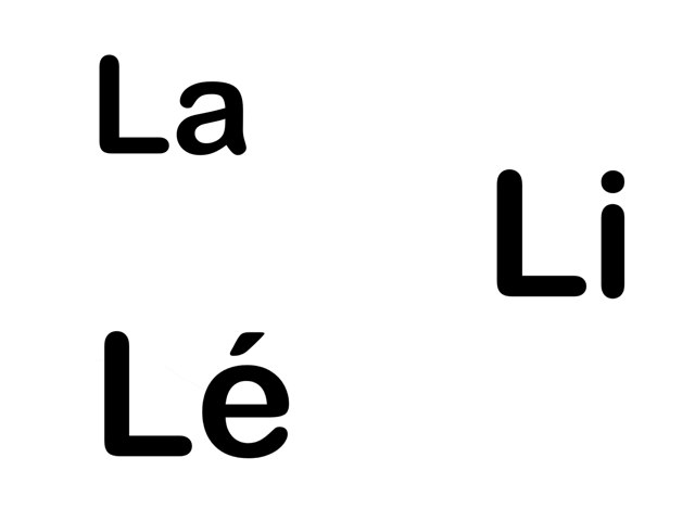 Syllabes L by Florence Marique