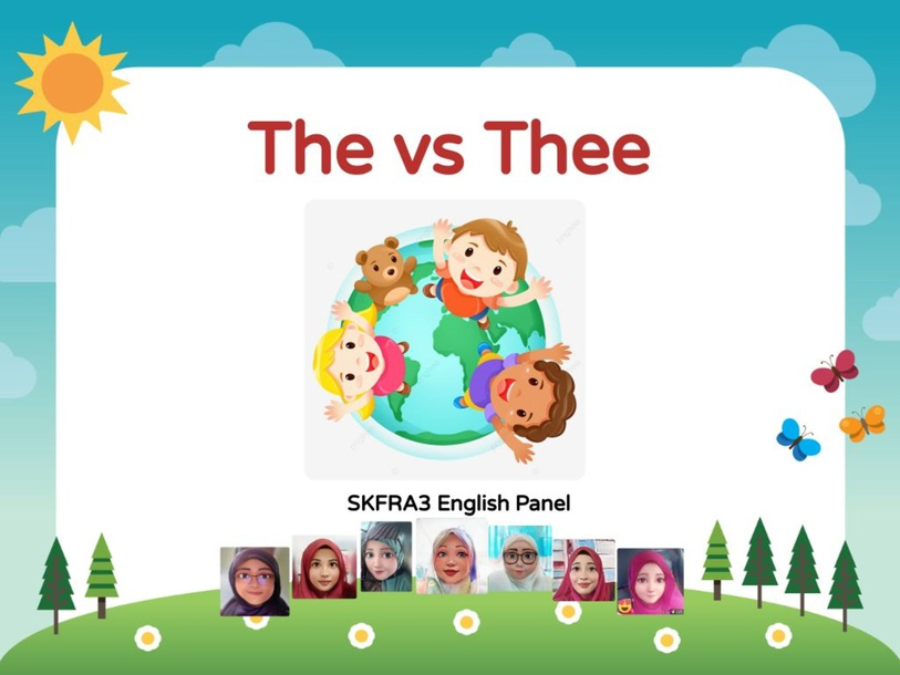 THE vs THEE by lady liaz