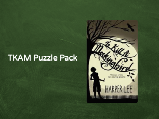 TKAM Character Puzzles by Jami Anderson