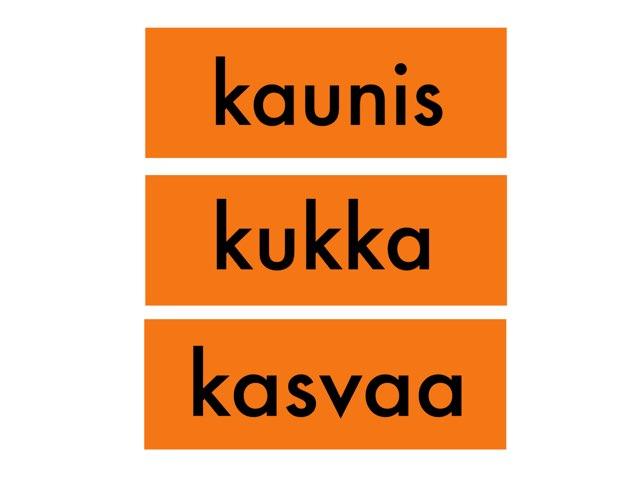 TVOLUKI: Tunnista adjektiivi by Kaijaeija Kaijaeija