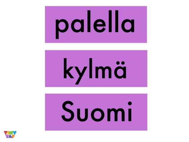 TVOLUKI: Tunnista substantiivi, adjektiivi ja verbi by Kaijaeija Kaijaeija