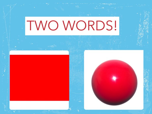 TWO WORDS!! by Caren Rothstein