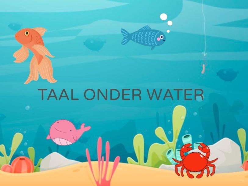 Taal onderwater by Steffie Seuntjens