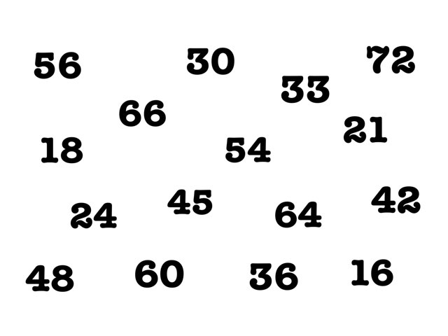 Table De 6 by Pascal Mathieu