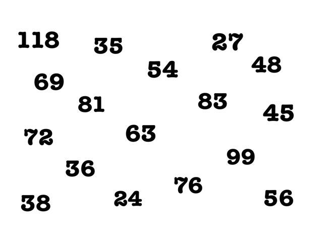 Table De 9 by Pascal Mathieu
