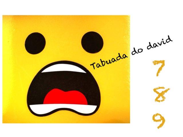 Tabuada Do David by Pedro Oliveira