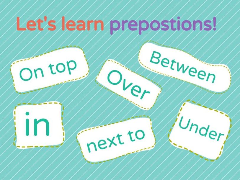 Tacting Prepositions by Elaina Grumblatt
