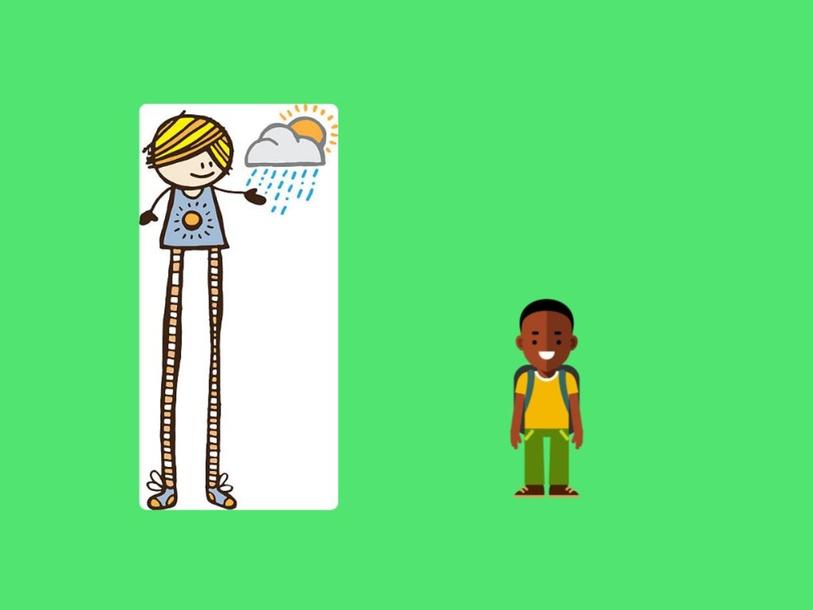 Tall vs Short by Monica Morkos