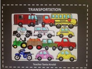 Tania A. - Transportation Vocabulary by Tania Airoldi