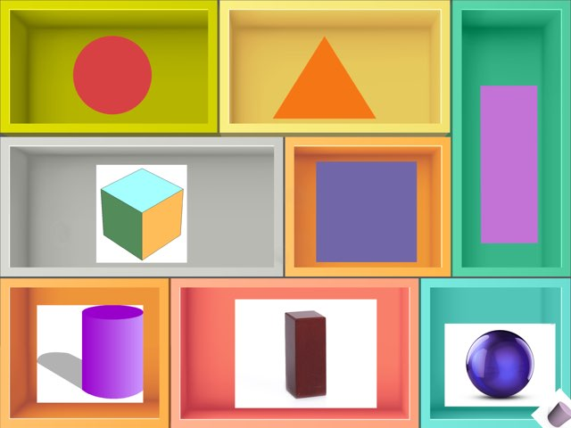 Tap The Shape 2d And 3d by Jo brosenitz