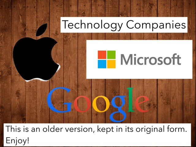 Technology Companies 1.0 by Tyren
