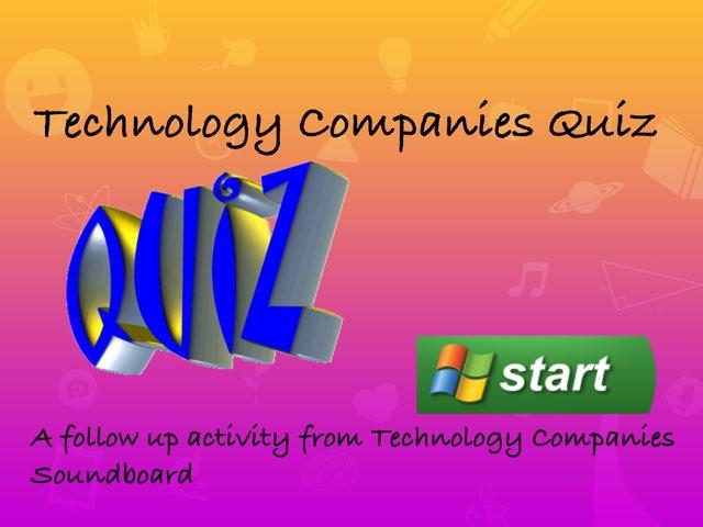 Technology Companies Quiz  by Tyren