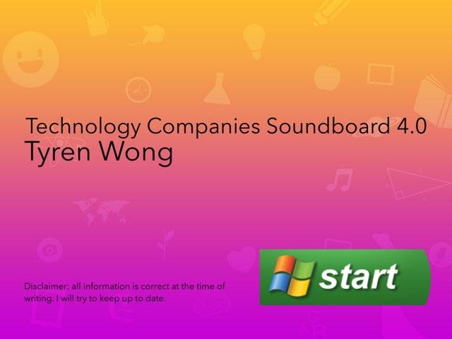 Technology Companies Soundboard 4.0 by Tyren