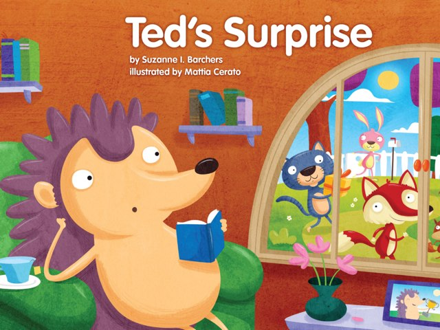 Ted's Surprise (Kiosk) by Red Chair Press