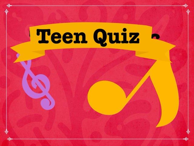 Teen Quiz by Gordana Seovac