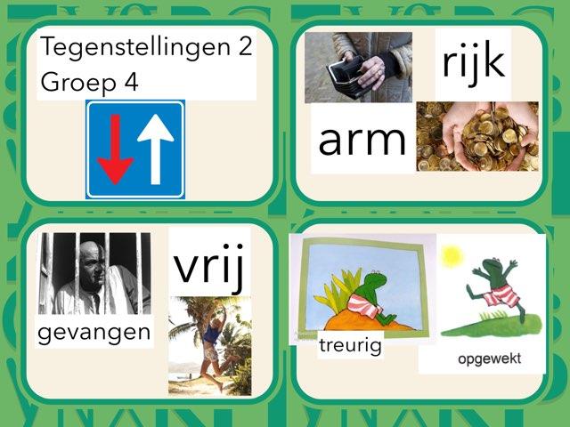 Tegenstellingen 2 Groep 4 by Wieke Jasper