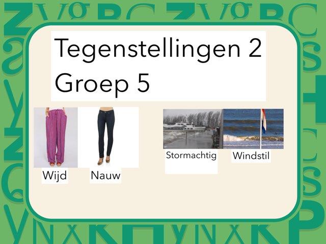 Tegenstellingen 2 Groep 5 by Wieke Jasper