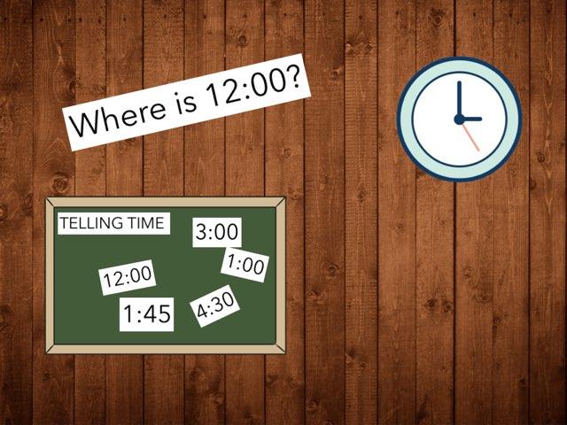 Telling Time  by Ashley schreiner
