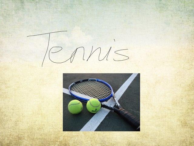Tennis by Eva Jay
