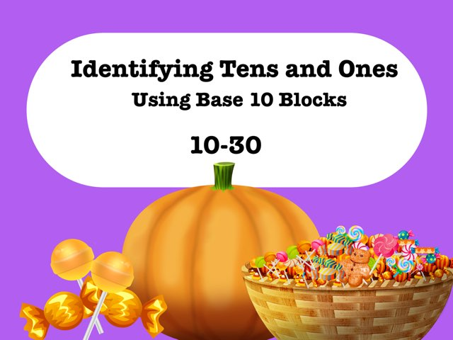 Tens And Ones:  10-30 by Jennifer
