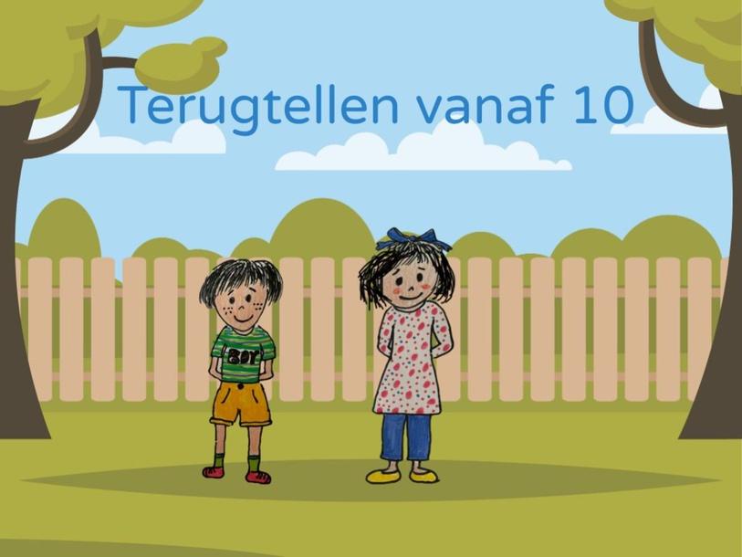 Terugtellen vanaf 10 by Petra Olthof