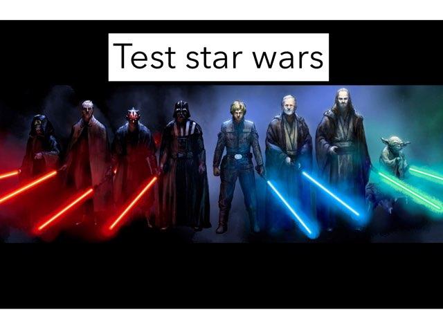 Test Star Wars by Miguel Sanz