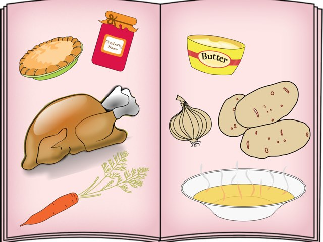 Thanksgiving Foods by Caroline Frenchman
