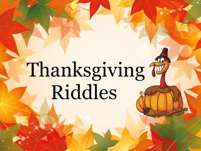 Thanksgiving Riddles by Jennifer Klostermann