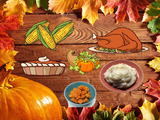 Thanksgiving Table by Katherine Rackliff