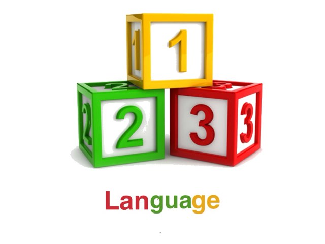 The 1 2 3 Language  by Mina H