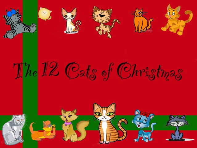 The 12 Cats Of Christmas-Crimson Tide by Abigail Blunt