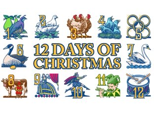 The 12 Days Of Christmas by A. DePasquale