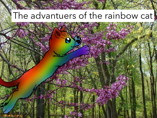 The Adveantuers Of The Rainbow Cat by Rip Tanz