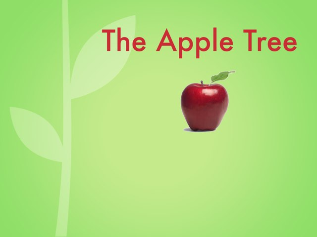 The Apple Tree Poem by Corinne Burke