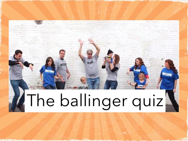 The Ballinger Quiz by Aiyana McMiller