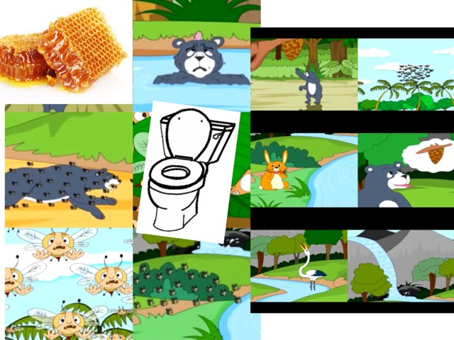 The Bear And The Bees And The Toilet by Barbi Bujtas