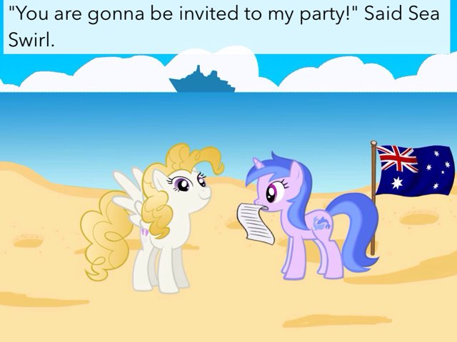 The Big Background Pony Party PT1  by M3 taylor