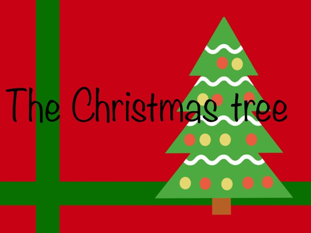 The Christmas tree by Bente Andsbjerg