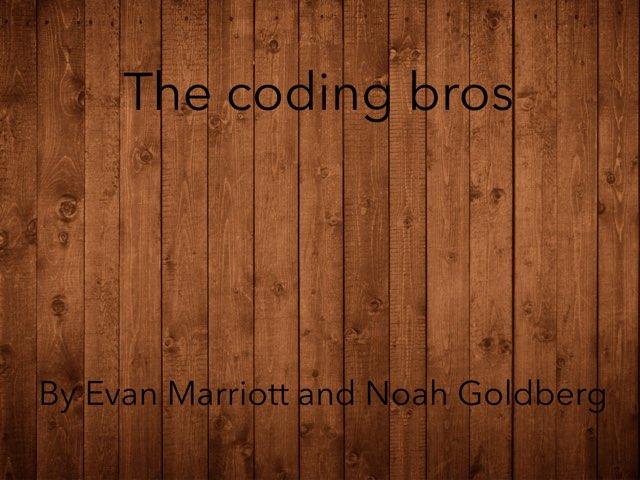 The Coding Bros  by Edventure More -  Conrad Guevara