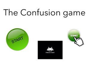 The Confusing Game by eddie vargas