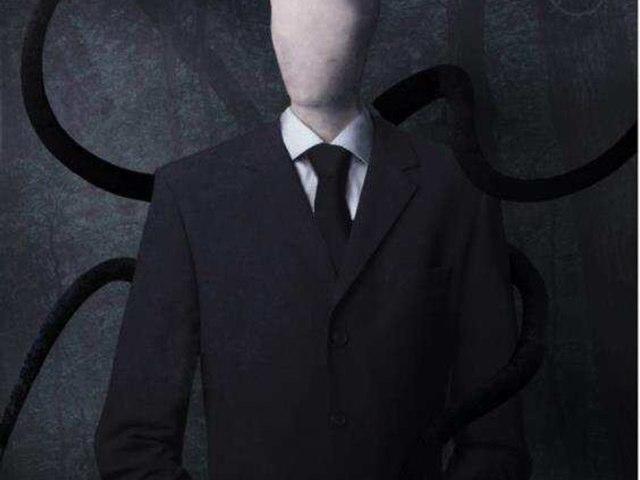The Creepy Slender Man by Jared Ezra