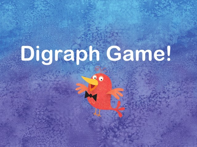 The Digraph Game by Jane Hray