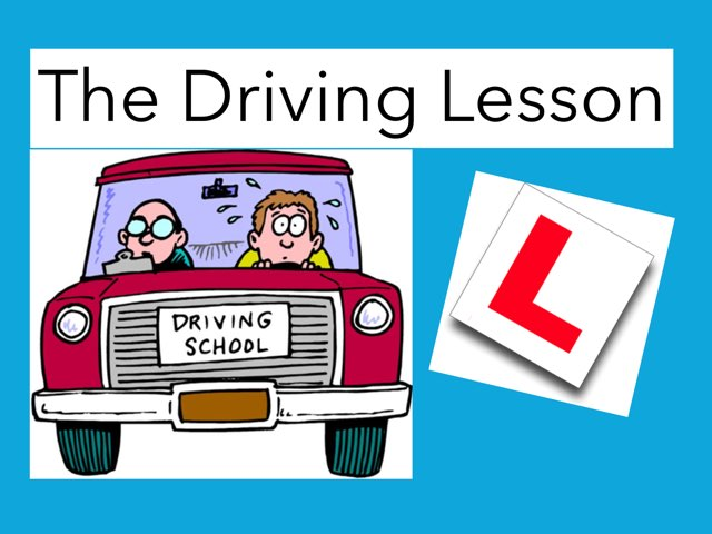The Driving Lesson by Max Zaoui